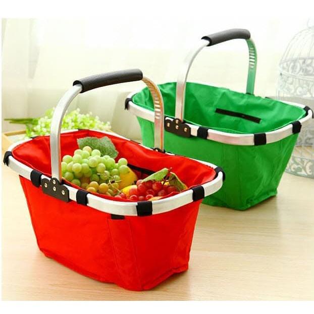 Foldable Shopping Basket (Small)