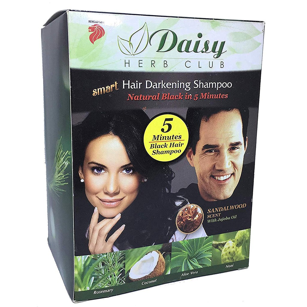 Daisy Herb Club Hair Darkening Shampoo (10 packs)