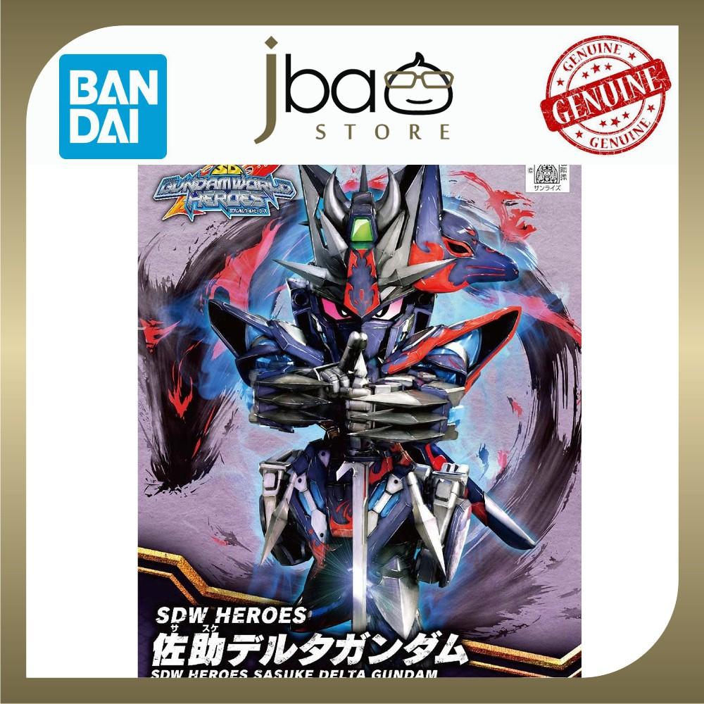 Bandai 06 SDW Heroes Sasuke Delta Gundam SD BB Mobile Suit Plastic Model