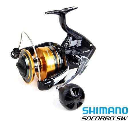 Original Shimano Socorro SW Fishing Reel Fishing Boat Wheel Spinning Wheel