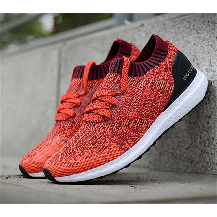 the latest e09f5 52cd2 100% authentic Adidas Ultra Boost black rainbow lovers BA9796 running shoes