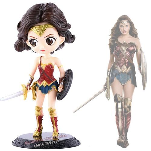QPocket Big Wonder Woman PVC Figure Good Workmanship Premium Collection