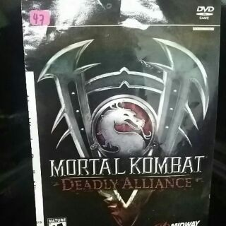 PS2 Games CD Collection Mortal Kombat Deadly Alliance