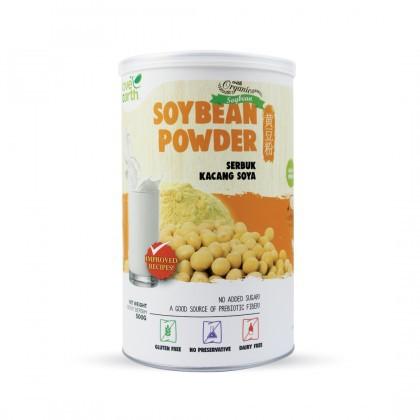 Love Earth Organic Soybean Powder 500g 乐儿有机黄豆粉 500公克 (罐装)
