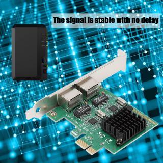 Dual Port PCI-E Wireless Network Adapter Gigabit Interface