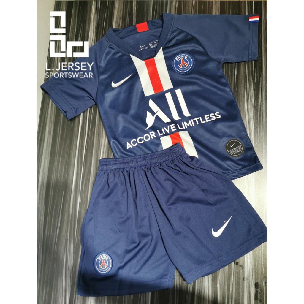 Paris Saint-Germain Kid Home Season 19/20 Stadium Fans Jersey
