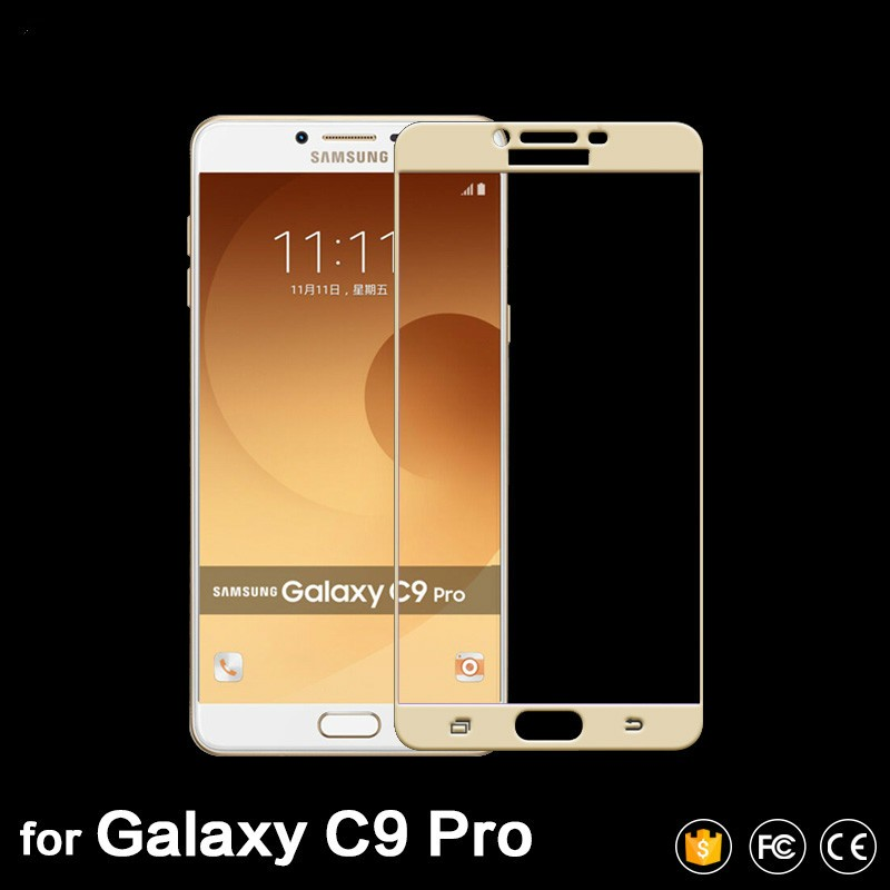 a366a9d8db2af For Samsung Galaxy J3 Pro 2017 Screen Protector Full Coverage Glass ...