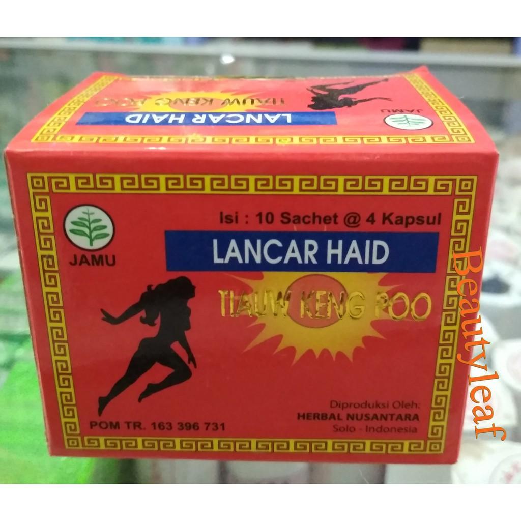 Kapsul Lancar Haid Period Original Isi 40 Kapsul