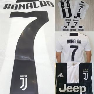 more photos a3ea1 92b53 (READY STOCK) Juventus Home rRonaldo CR7 Kit Jersey