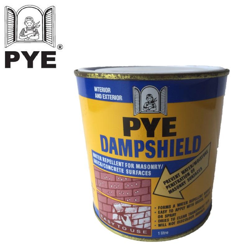 Pye Dampshield Brick Concrete Stone Protector 1L.
