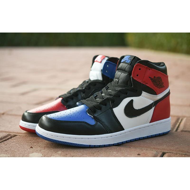 sports shoes dd8bd 7b424 Nike Air Jordan 1 Top 3 AJ1 men women running shoes
