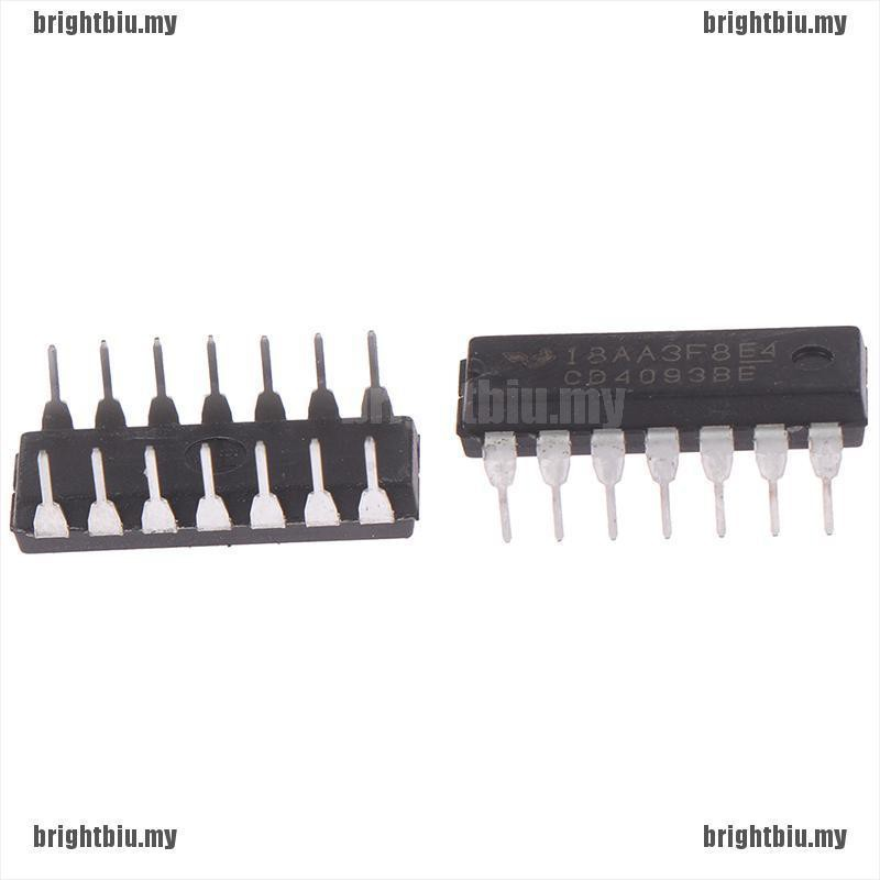 50PCS CD4093BE CD4093 4093 DIP-14 TI CHIP IC NEW
