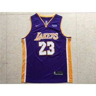 sports shoes 10d62 ab628 2018-2019 Original Nike NBA Los Angeles Lakers jerseys ...