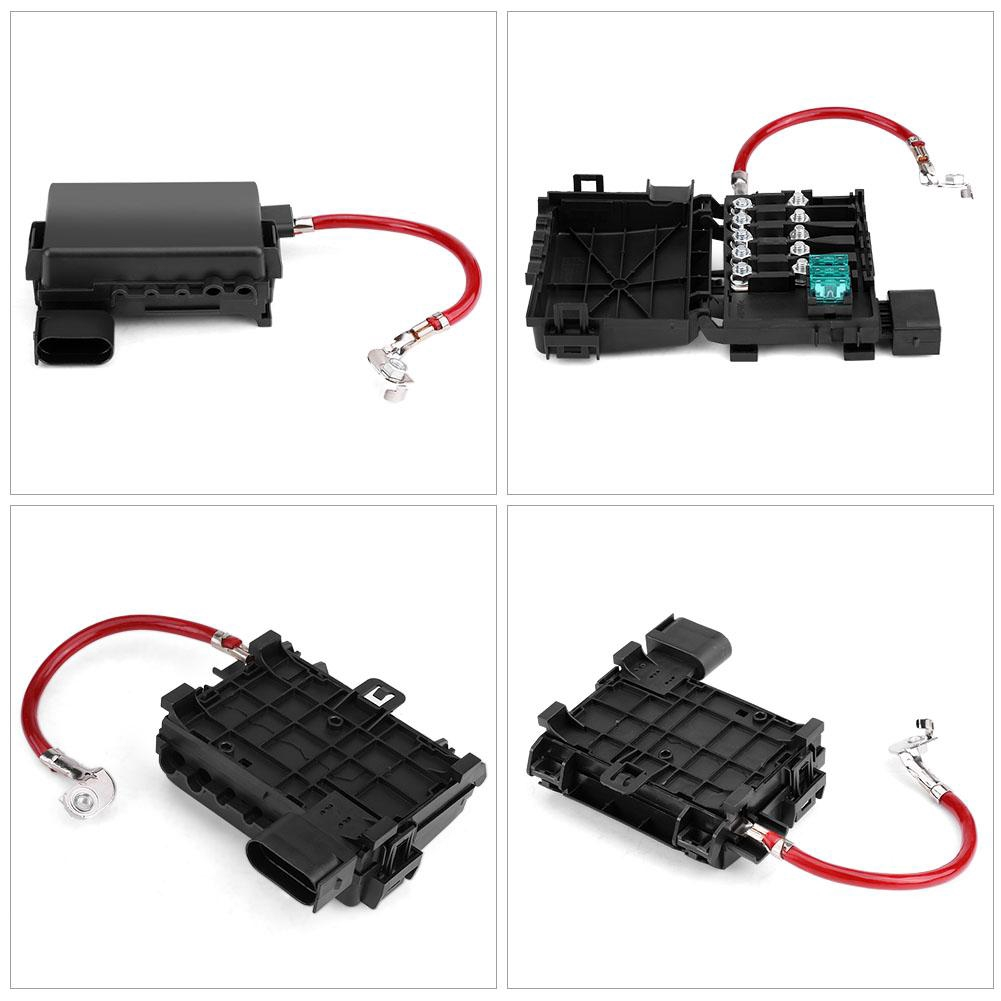 Acouto Car Battery Fuse Box Holder Terminal for Mk4 Beetle 99-04 ...