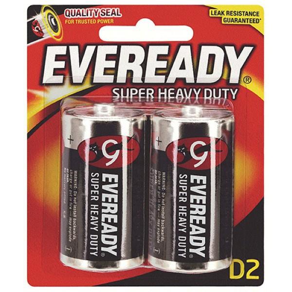Eveready Super Heavy Duty C / D / 9V / 6V