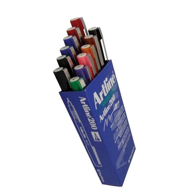 Artline 200 Writing Pen (0.4mm) 12pcs/box