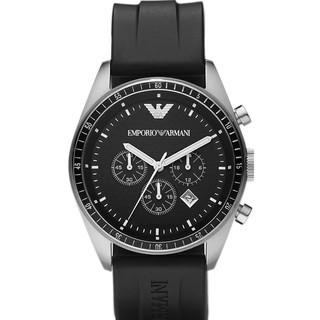 d9bec2de Emporio Armani Men's Sportivo Black Dial Chronograph Watch AR0527 ...
