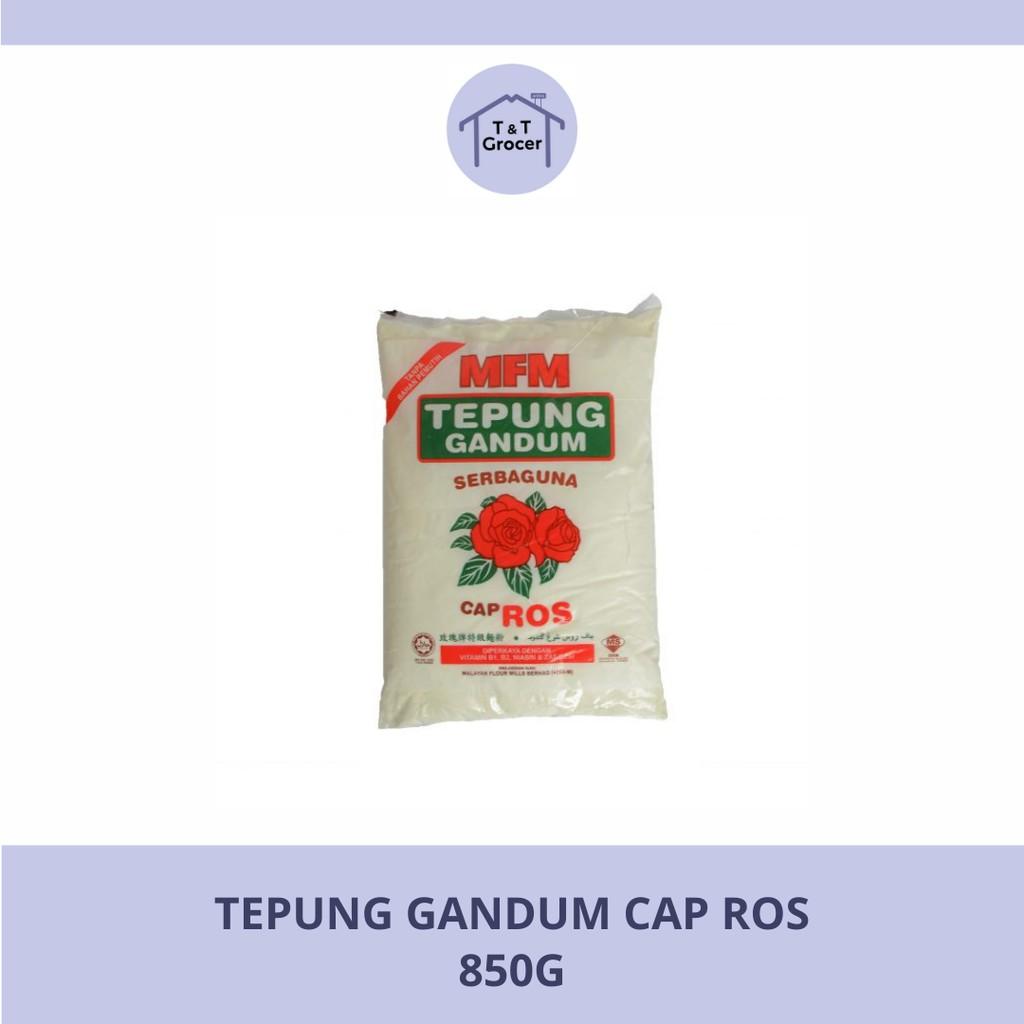 Tepung Gandum Cap Ros (850g)