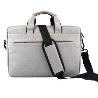 946c21da8ff5 13.3/14/15/15.6 inch Canvas Briefcase Women Men Laptop Beg Messenger ...