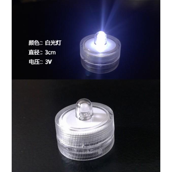 Small Mini Round LED DIY for Dining Betta FishTank GrassTank Light waterproof landscaping decoration LED