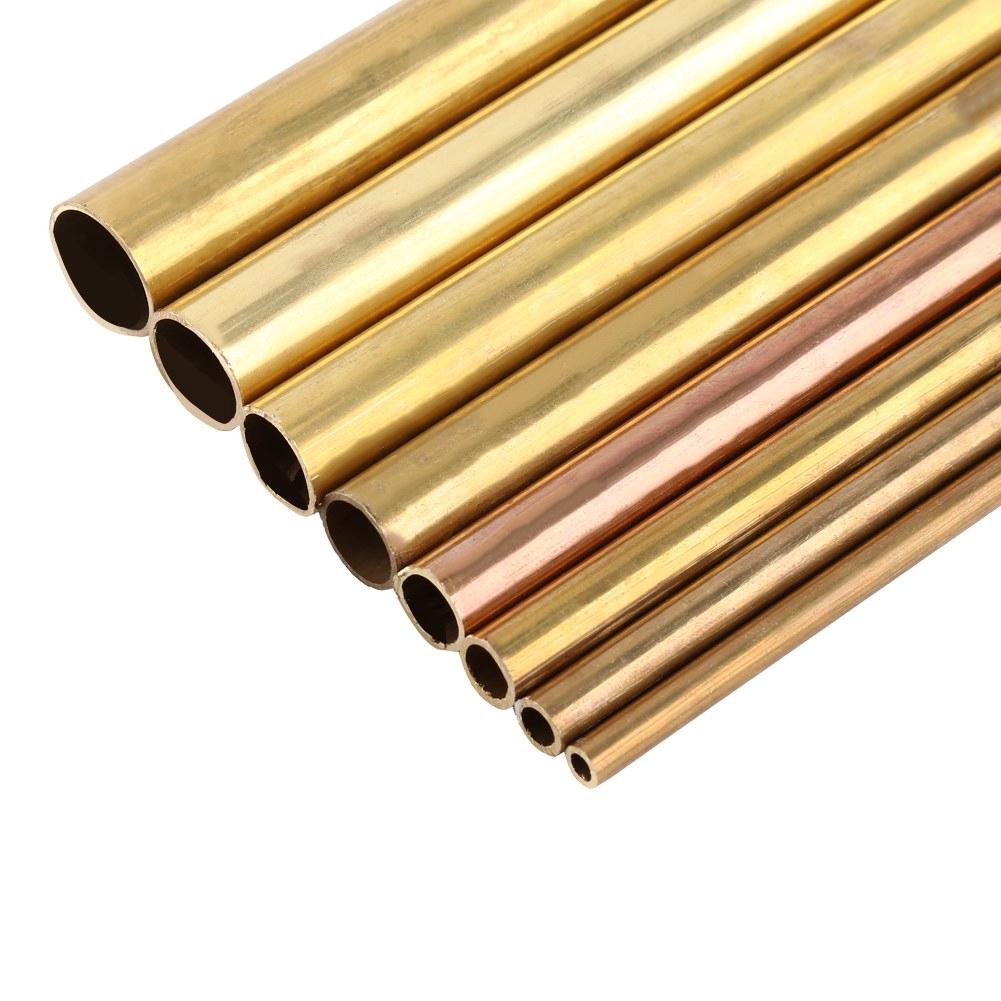 Brass Mini Tubes Pipe 2mm 3mm 4mm 5mm 6mm 8mm 200mm /& 300mm Long 0.45mm Wall