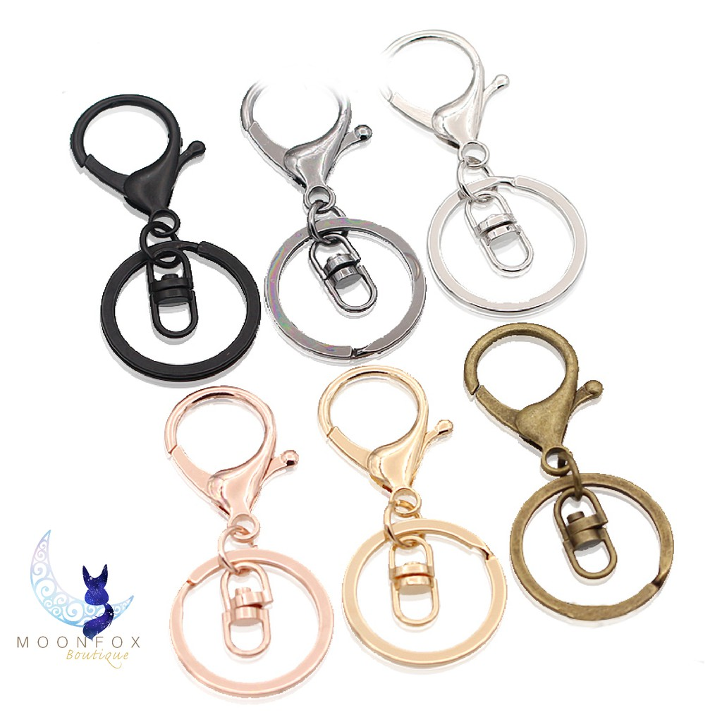 FUJIE 2 Pcs Red Braided Keychain Leather Strap Keyring Accessories Car Key Chain Ring PU Rope Keyring with Zinc Alloy