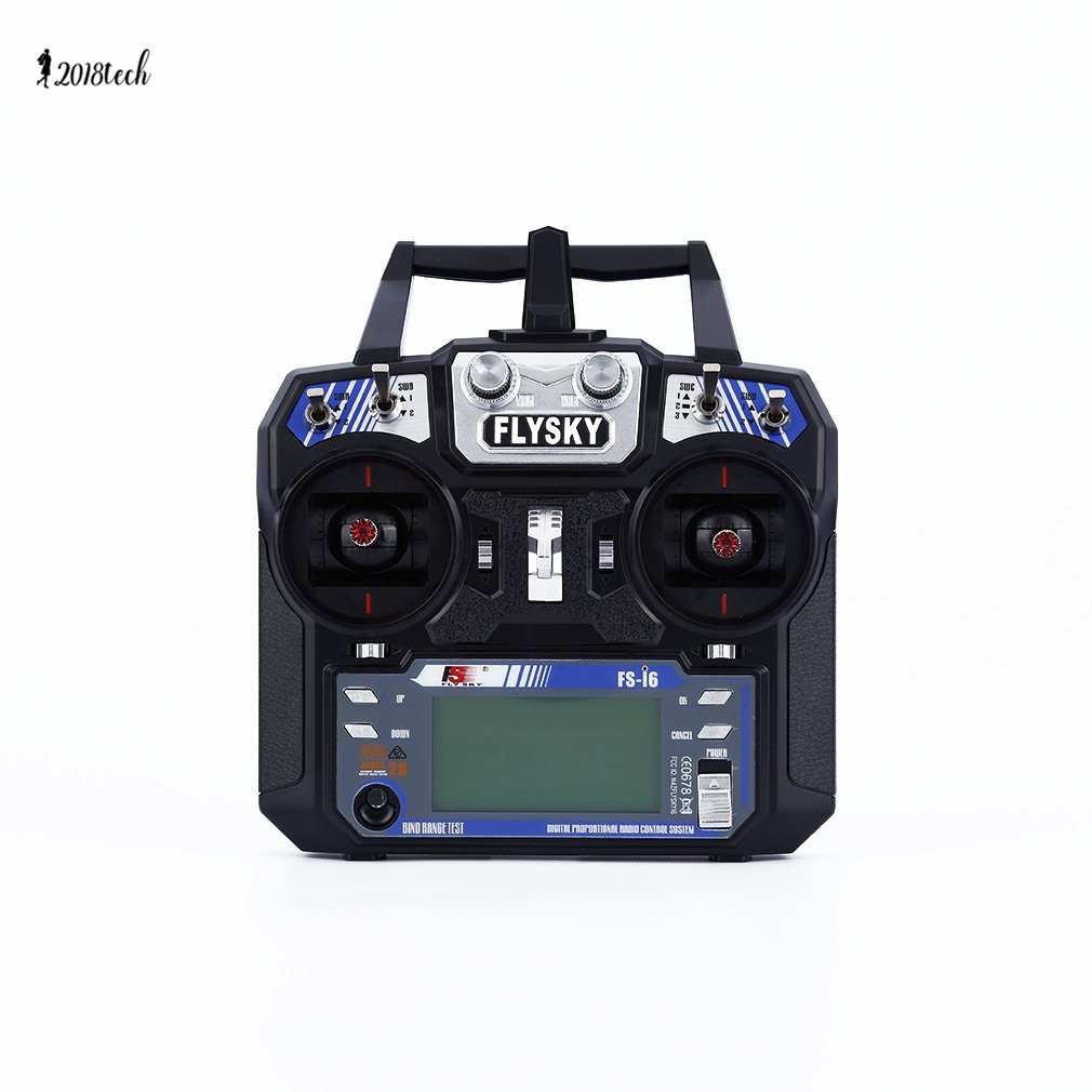 Flysky FS-i6 AFHDS 2A 2 4GHz 6CH Radio System Transmitter for RC Helicopter  TECH