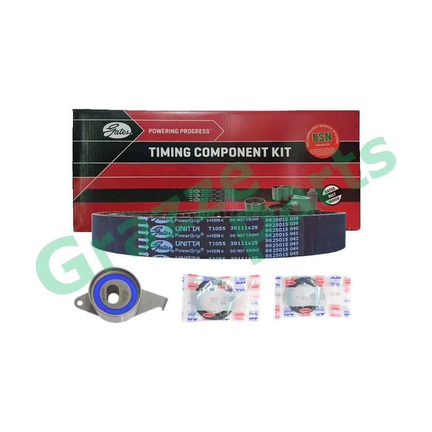 GATES Timing Belt Kit Set for Perodua Kenari, Kelisa, Myvi 1.0 111YU25