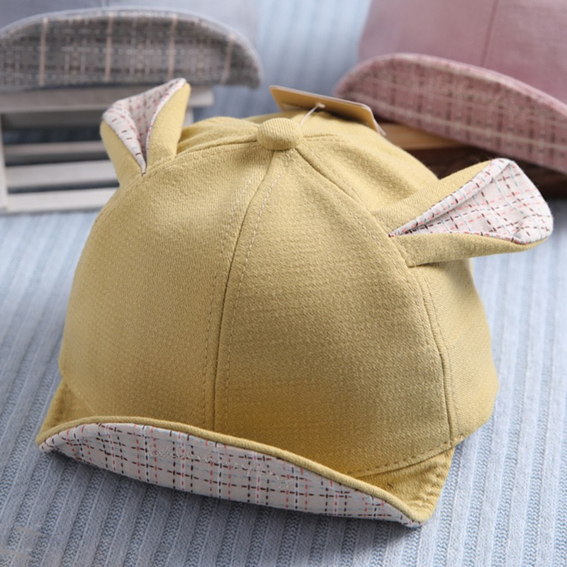 27e6574deedde ProductImage. ProductImage. Baby hat spring and autumn female baby 6-12  months cap 1-2 years old ...