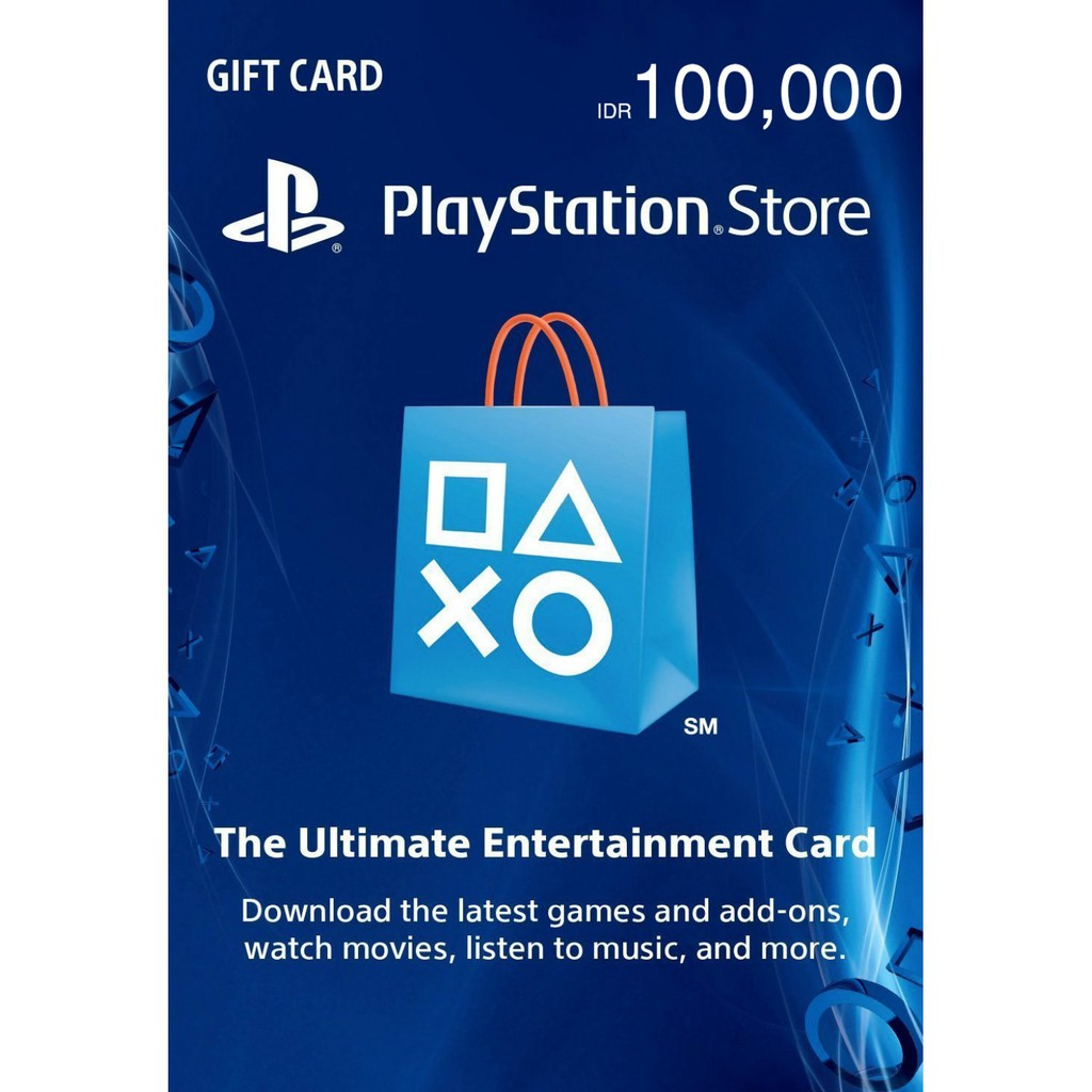 Sony PlayStation Network 100,000 Indonesian Rupiah / PSN Rp 100,000