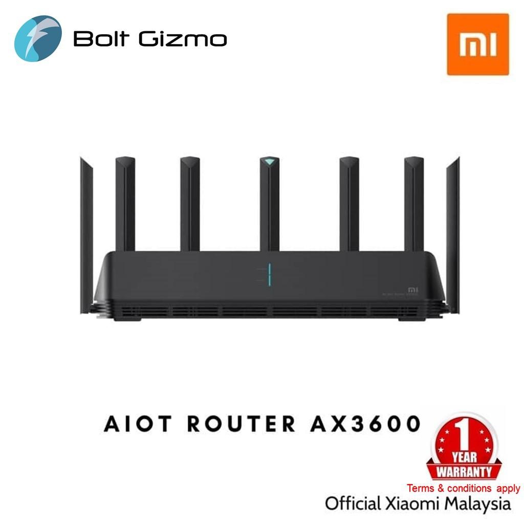 Xiaomi Mi AIoT Router AX3600 - Global Version - (Warranty by Xiaomi M'sia)