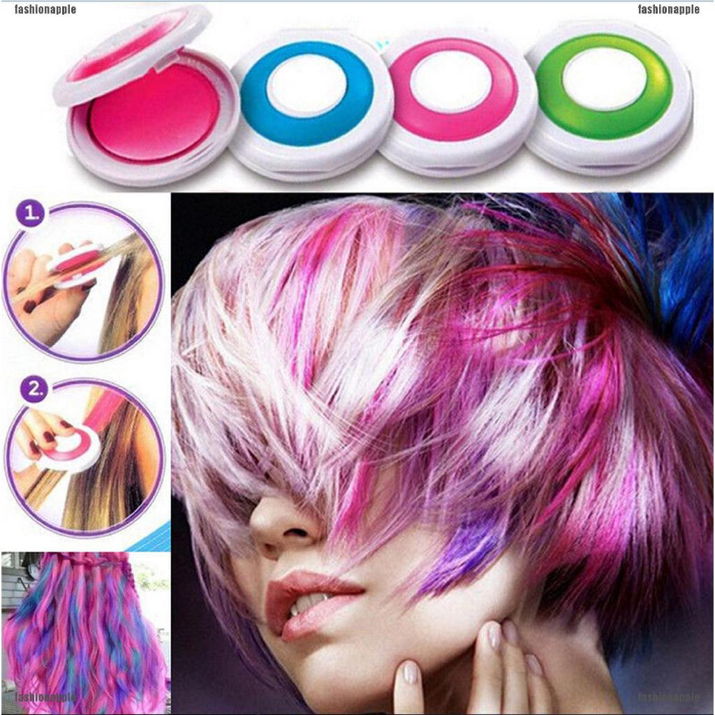 Details About 4 Colors Non Toxic Diy Temporary Hair Chalk Special Color Dye Pastels Salon Kit