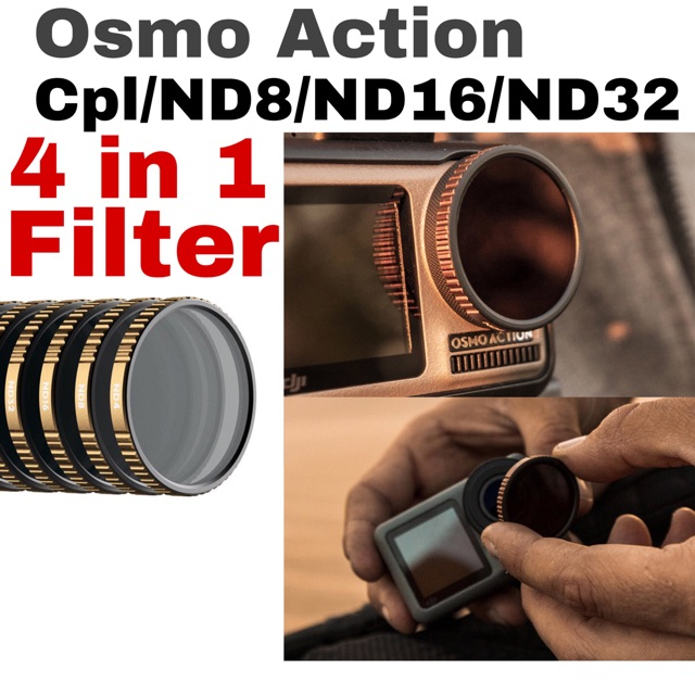 Camera Lens Filter Kit Set for DJI OSMO POCKET UV CPL ND4//8//16 for DJI OSMO POCKET Lens Accessories Kit for Cokin P Set SLR DSL Blue-Ocean-11