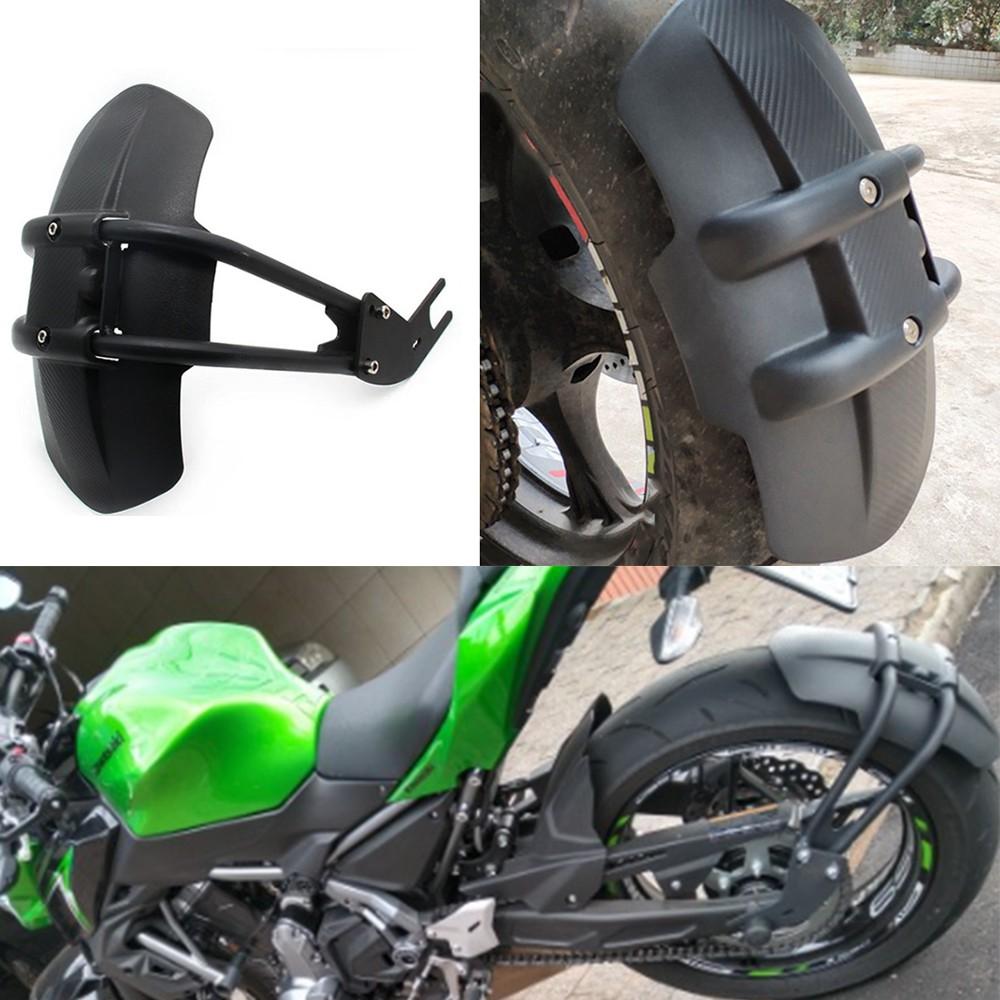 Rear Tire Hugger Fender Mudguard Mud Guard For Kawasaki Ninja ZX14R 11 12 13 14