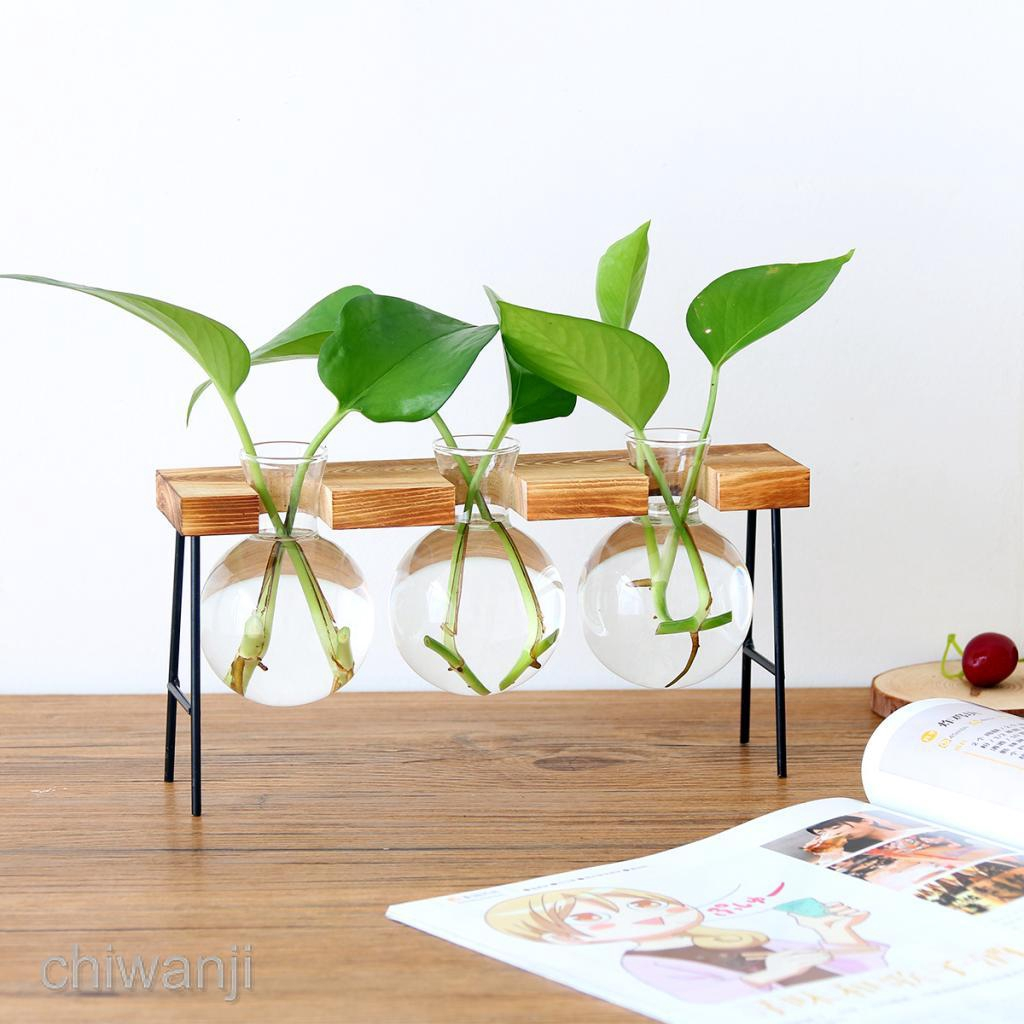 Wooden Plant Stand Outdoor Garden Unit Flower Vase Planter Pot Holder Rack Shopee Malaysia