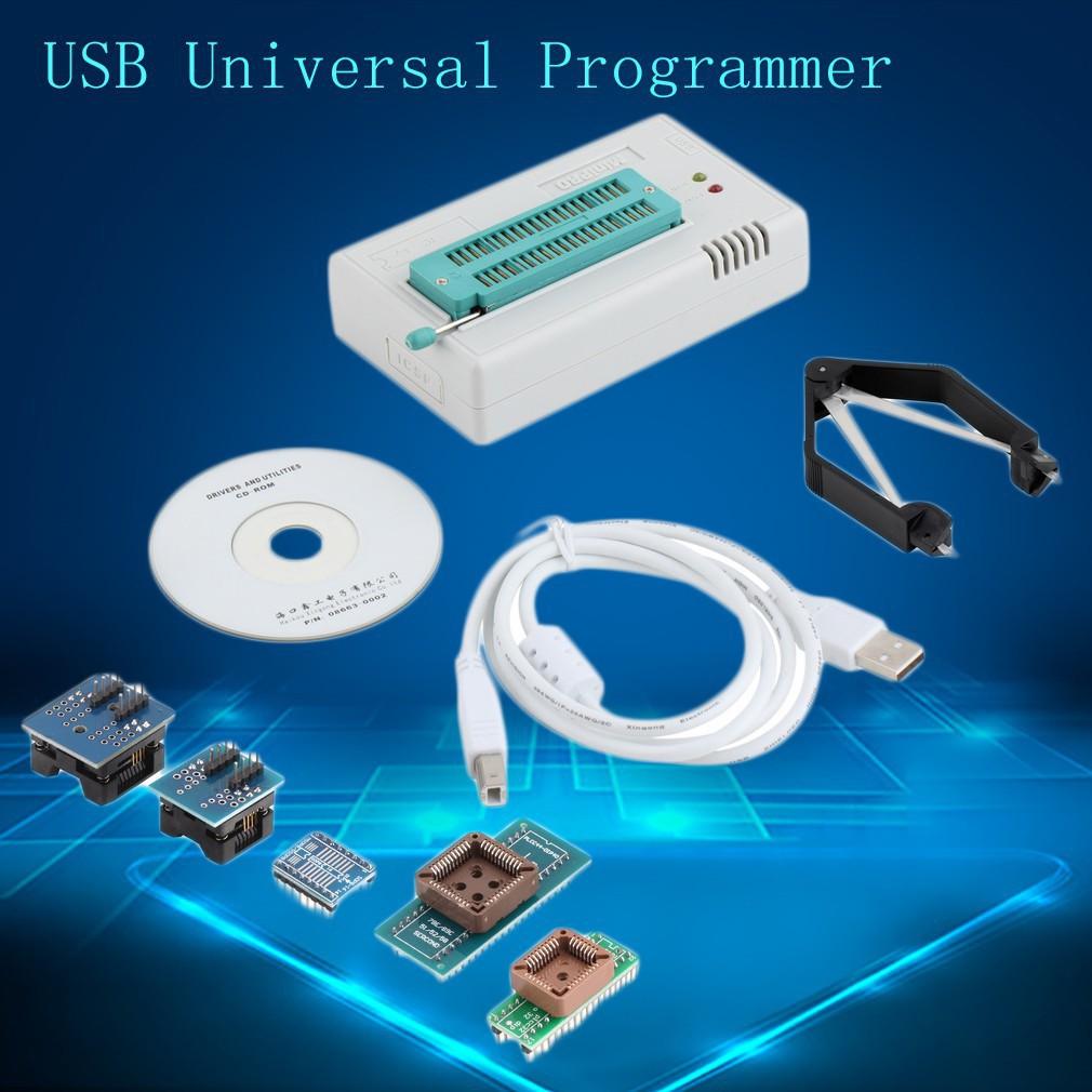 Tl866cs Usb Universal Programmer Flash 8051 Avr Mcu Gal Pic Spi 5 Atmel Circuit Zif Socket Usbasp Atmega8 4 Adapters Shopee Malaysia