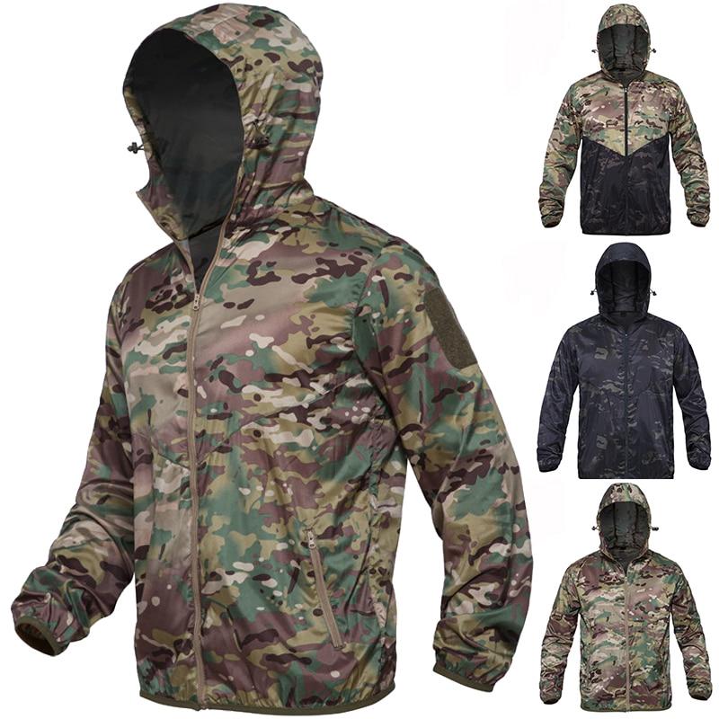 Under Armour Mens Hooded Waterproof Outdoor Jacket  Fishing Hiking QuickDry Coat