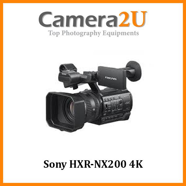 Sony HXR-NX200 4K NXCAM Camcorder (Malaysia Warranty)