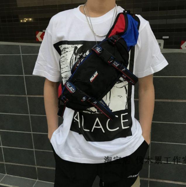 39e938ed Palace Genius Bun Bag Waist Bag Shoulder Bag Chest Bag Men | Shopee ...