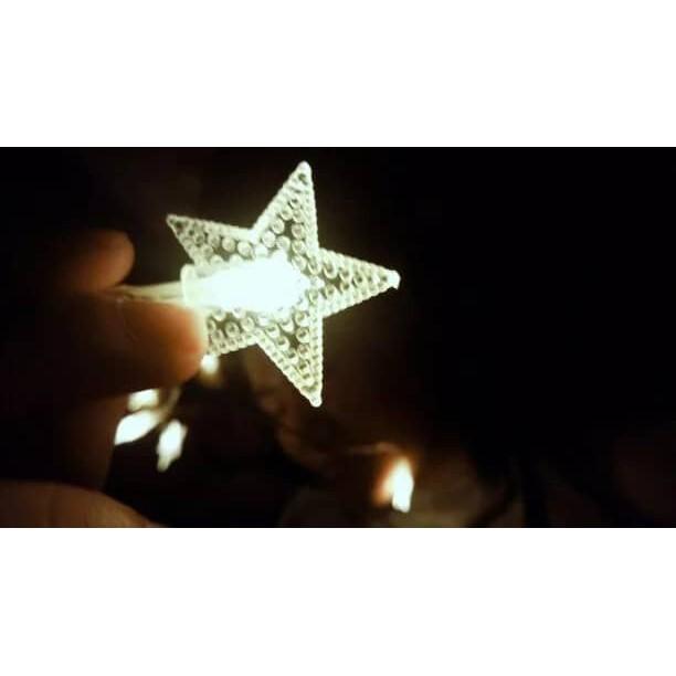 Star String Lights, Battery Operated LED Lights 2m 10pcs LED