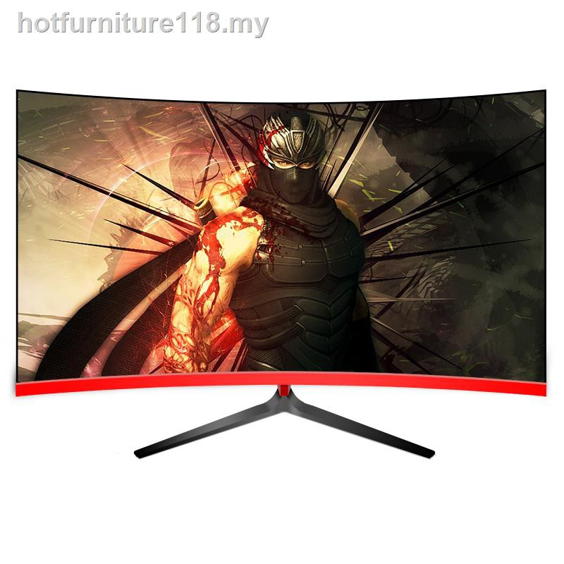 Ready Stock 40-inch curved screen high-definition computer ...