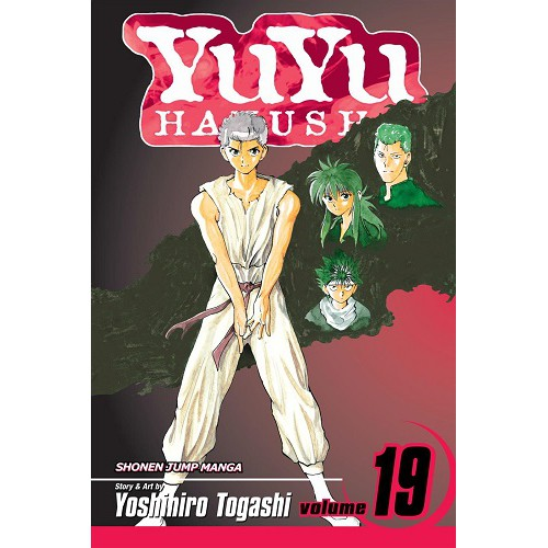 {e-Manga} Yu Yu Hakusho Chapter. 1~175 [End] English Version [ PDF Only ]