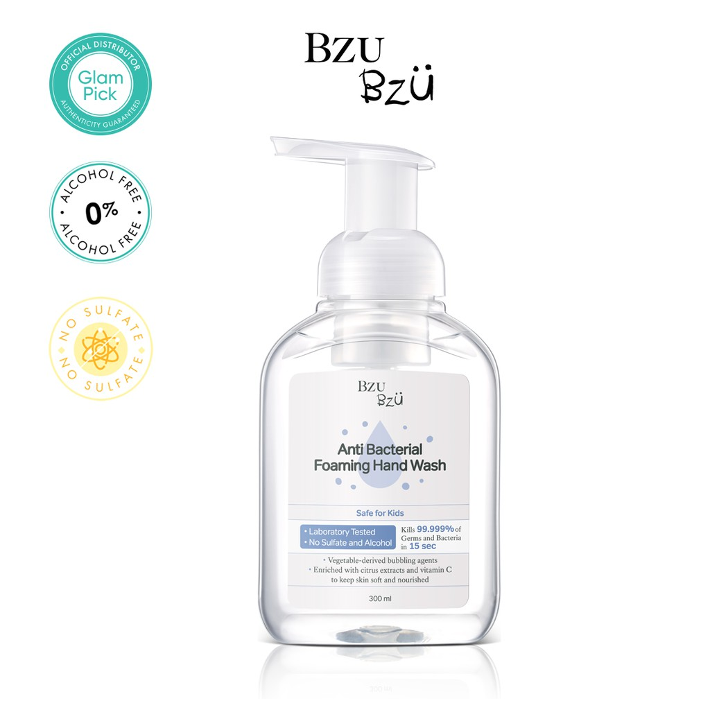 BZU BZU Anti Bacterial Foaming Hand Wash 300ml