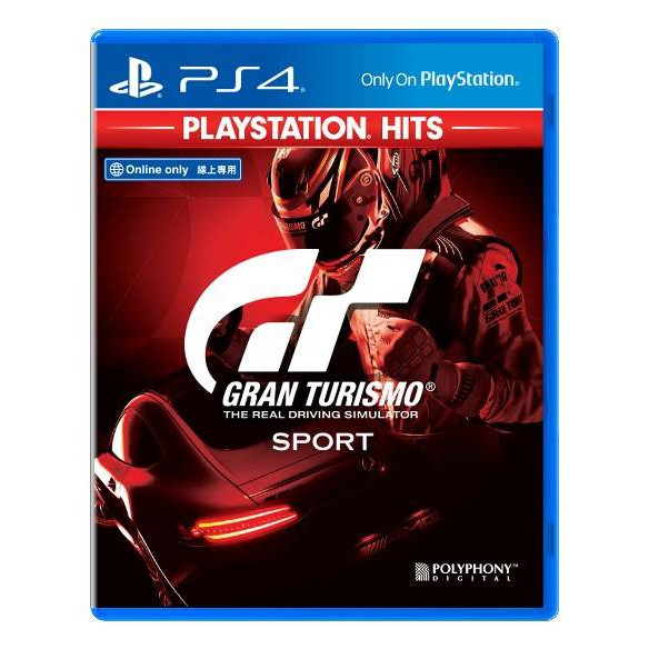 PS4 GT SPORT / GRAN TURISMO SPORT PLAYSTATION HITS (ALL/ENG)