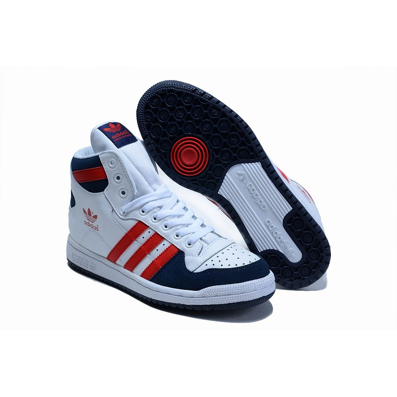 hot sale online 3d25a ebfd4 winter shoes adidas decade high leather red  Shopee Malaysia