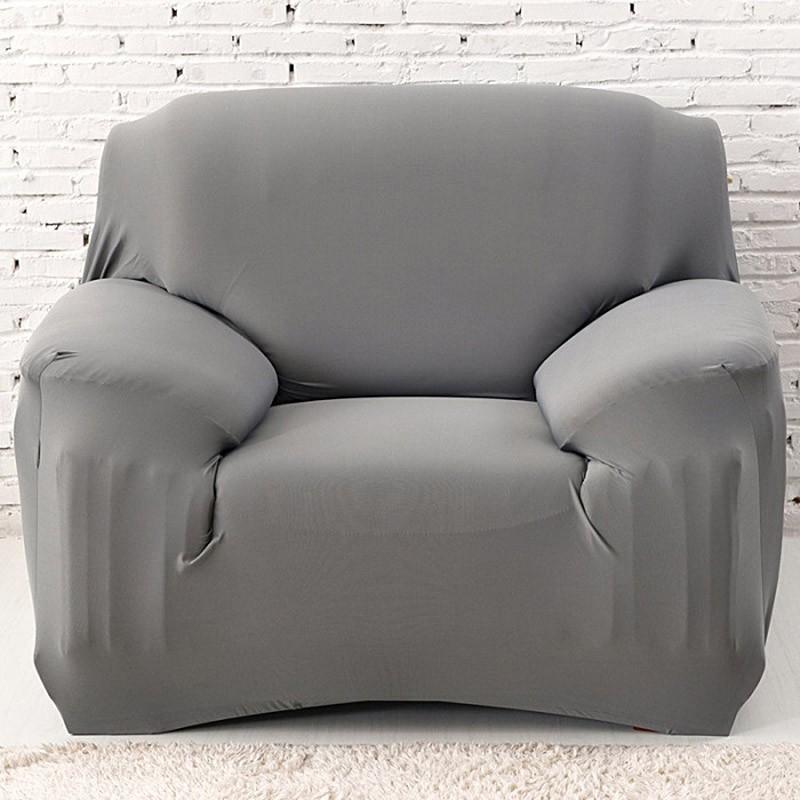 Pleasant 1 Pcs Luxury Arm Chair Sofa Loveseat 1 Seater Slip Covers Couch Gray Uwap Interior Chair Design Uwaporg