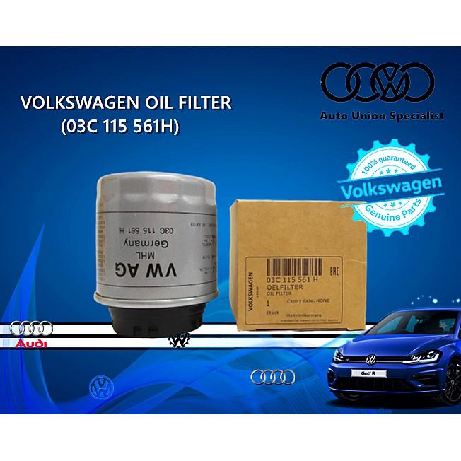 VW Volkswagen Oil Filter 03C115561H/03C 115 561 H(Polo Jetta Tiguan Scirocco Golf)