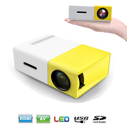 YG-300 Home Mini LED Projector - 400~600 Lumens