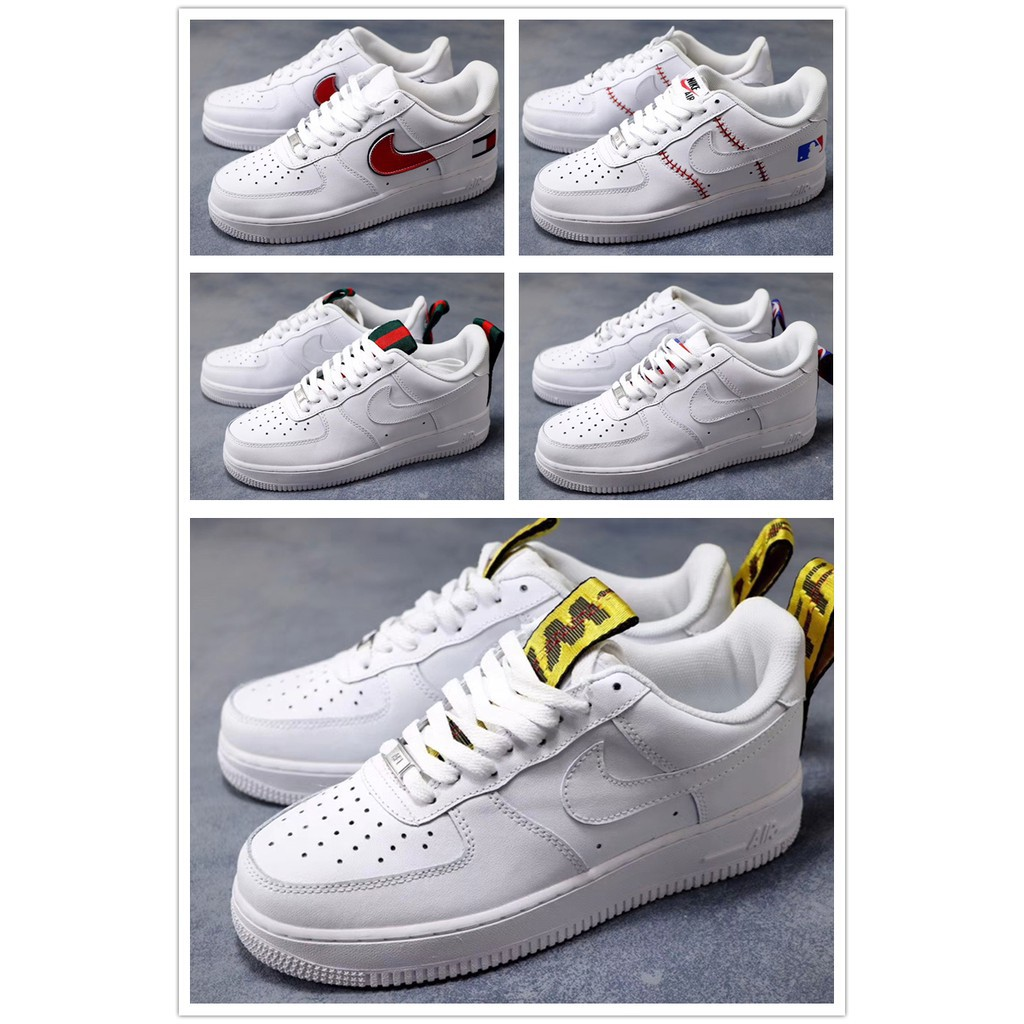 daa9d1ed Best Shoes 911 Fashion High top Kappa x Nike Air Force 1 07 V8 Suede  Mens\Womens Plate shoes