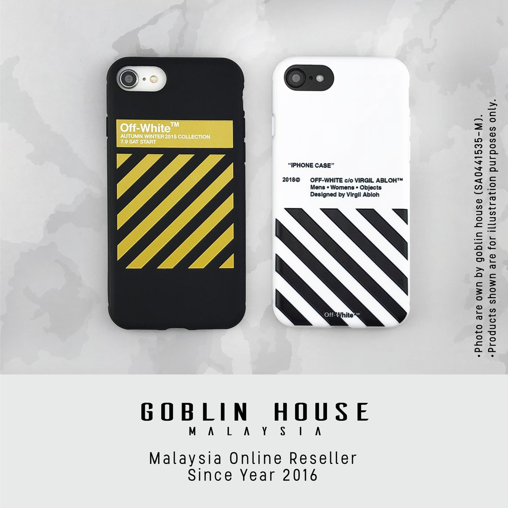 online retailer fec28 3835e Off White iPhone Case for i6 i6s i6p i6sp i7 i7p i8 i8p ix